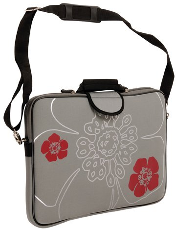 laurex-1775mt-17-inch-laptop-sleeve-case-bag-with-handle-and-shoulder-strap-gun-metal