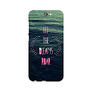 Ebby Let the Oceans Roar Premium Printed Case For HTC One A9