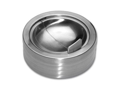 Chg 3315-00 Posacenere A Prova Di Vento, Altezza Ca. 5,5 Cm, Diametro: Ca. 11,5 Cm
