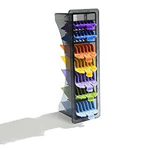Wahl 8-Pack Color-Coded Cutting Guides with Organizer