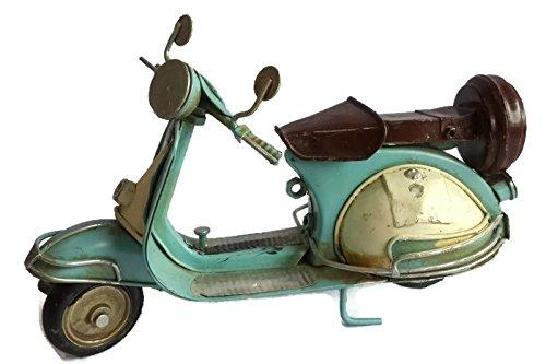 Vintage Classic Handmade Vespa Scooter Model - Blue
