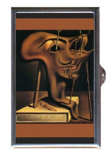 Salvador Dali Portrait Bacon Guitar Pick or Pill Box USA Made