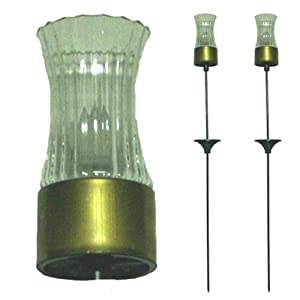 Click to read our review of Mr. Light 77544 Solar Garden Stakes with Removable Copper Alloy Candles, Set of 2