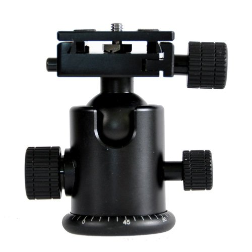 CowboyStudio FT6663AH Photography Heavy Duty Camera Tripod Action Ball Head Quick Release Plate