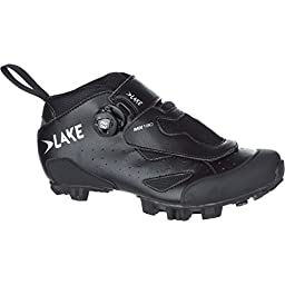 Lake MX180 Shoe - Men\'s Black, 44.0