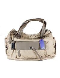 Mexx TREND Handtasche Tasche beige / braun Maße ca. 45x30cm
