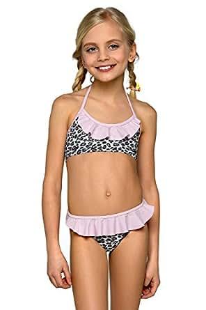 Girls Kids Childrens Bikini Beachwear Swimsuit Swimwear