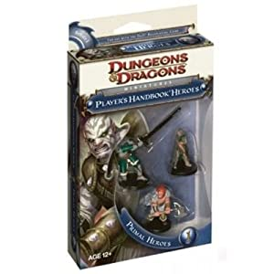 Wizards of the Coast W250550 - Dungeons & Dragons Primal Heroes 1 [Importado de Alemania]