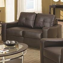 Big Sale Oakwood Leather Loveseat