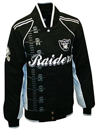 NFL Ladies Oakland Raiders Franchise Twill Jacket by MTC Marketing, Inc
