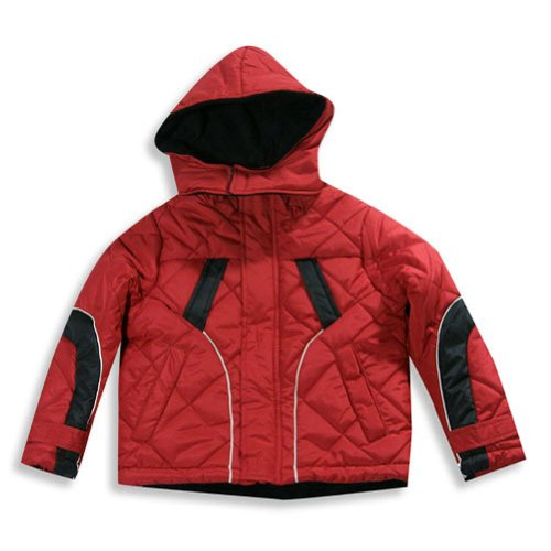 Extreme - Big Boys Winter Jacket, Red, Black, White 19901-14/16 front-823445