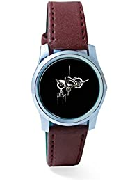 BigOwl Bike Is My Reality Analog Men's Wrist Watch 1293804536-RS2-S-BRW