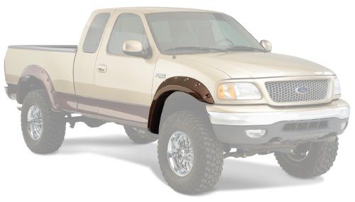 Bushwacker Ford Cut-Out Fender Flare Front Pair (2002 F150 Fender Flares compare prices)