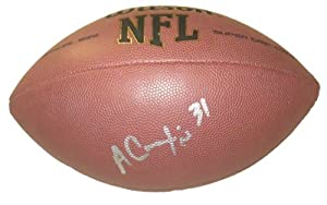 Antonio Cromartie Autographed Signed NFL Wilson Composite Football, New York Jets,... by Southwestconnection-Memorabilia