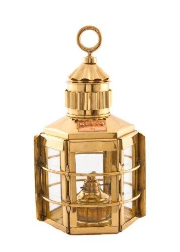 "Nautical Lanterns Brass Clipper 13"" - Ship Lantern"