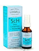 Liddell Homeopathic, Sinus Congestion & Headache Spray, 1 Oz