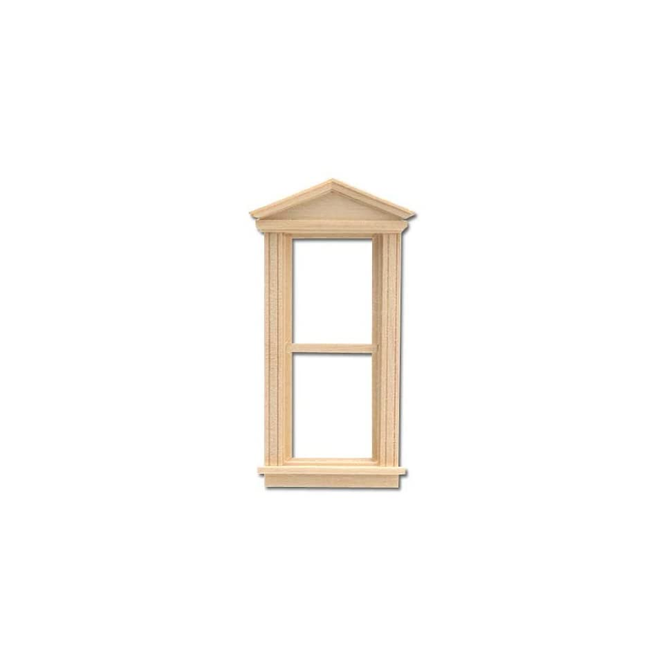 Dollhouse Cast Resin Over Door//Window Pediment T2