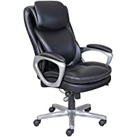 Serta Smart Layers AIR Arlington Executive Chair (Black/Pewter)