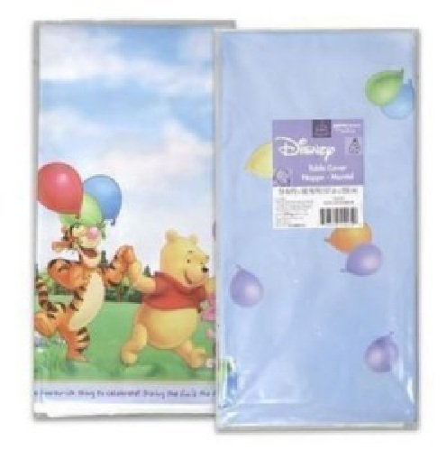Pooh's Fun Celebration Celebration Plastic Tablecover