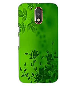 ColourCraft Beautiful Pattern Design Back Case Cover for MOTOROLA MOTO G4