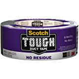 Scotch Tough No Residue Duct Tape, 1.88-Inch by 25-Yard