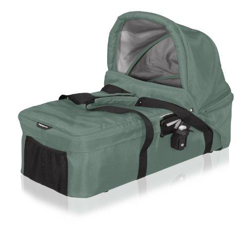 Baby Jogger City Versa Pram Bassinet, Green front-749313