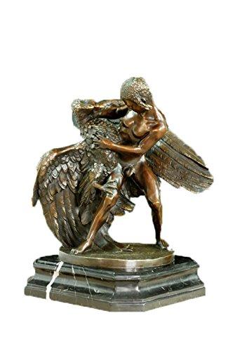 top-bronze-sculpture-eagle-boys-indoor-decorations-art-metal-classic-statue-tpe-396