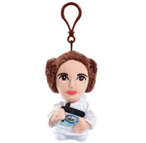 "Underground Toys Star Wars Talking Princess Leia 4"" Plush"