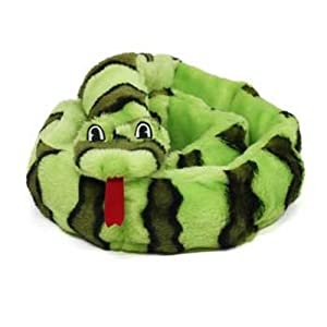 Kyjen Plush Puppies Ginormous Invincible Snake Dog Toy
