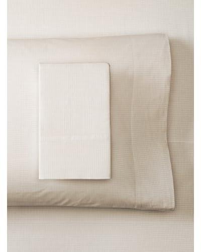 Coyuchi Refined Check Organic Cotton Sheet Set
