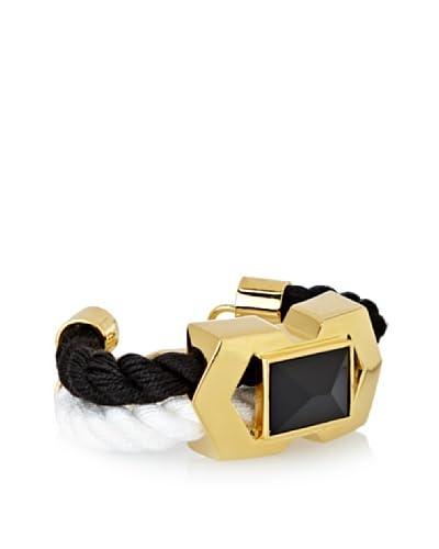 Vince Camuto Black & White Rope Drama Bracelet