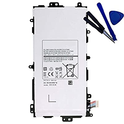 Powerforlaptop Tablet battery for Samsung Galaxy Note 8.0 GT-N5100,GT-N5110, GT-N5120,Galaxy Note 8.0 SGH-I467,Galaxy Note 8.0 SGH-I467ZWAATT SP3770E1H, GH43-03786A with opening repair tool kit