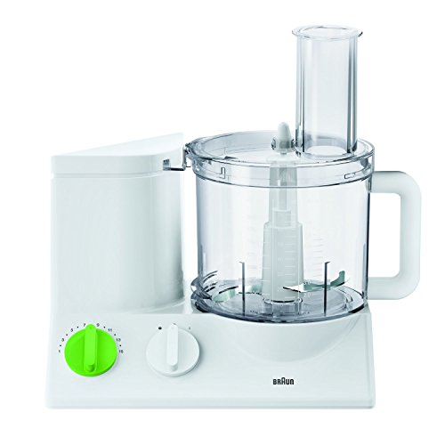 Braun FP3020 The Tribute Collection 12-Cup Food Processor Ultra Quiet Powerful Made In Europe With German Engineering