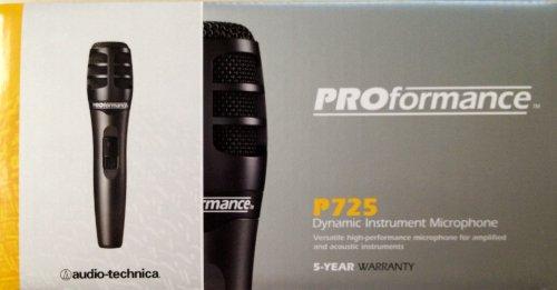 Audio Technica Proformance P725 Neodymium Microphone