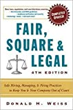 img - for Fair, Square & Legal 4th (forth) edition Text Only book / textbook / text book