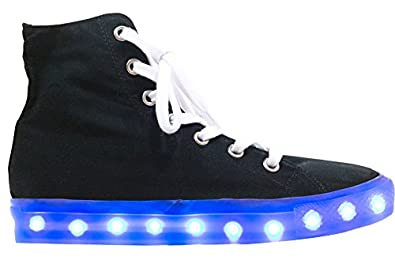 Starry Eyed Jordan06M Men LED Light Sneakers (US Men Size 12)