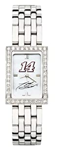 Driver Number 14 Ladies Allure Watch Stainless Bracelet by Nascar Officially Licensed