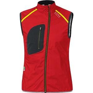 GORE RUNNING WEAR Mens X-Run Ultra Windstopper Active Shell Light Vest by Gore Running Wear