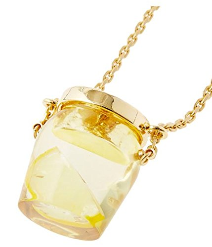 Q pot bee To honey To lemon bottle necklace New From Japan