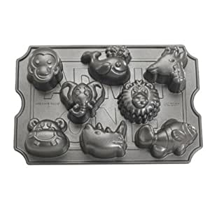 Nordic Ware Pro Cast Zoo Animal Muffin Pan