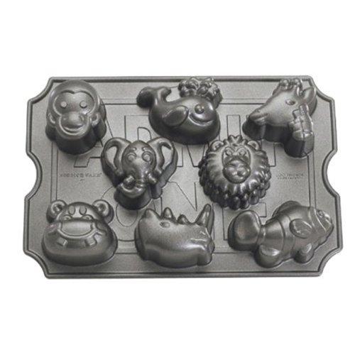 Nordicware Zoo Animal muffin pan
