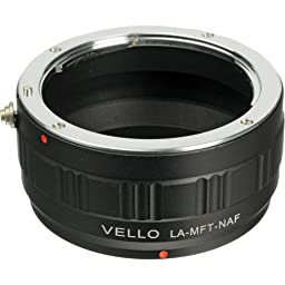 Vello Lens Mount Adapter - Nikon AF Lens to Micro 4/3 Camera
