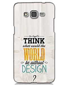 MobileGabbar Samsung Galaxy On5 Back Cover Designer Hard Case