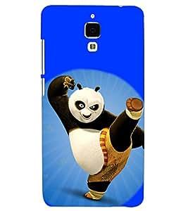 PRINTSHOPPII PANDA Back Case Cover for Xiaomi Redmi Mi4::Xiaomi Mi 4
