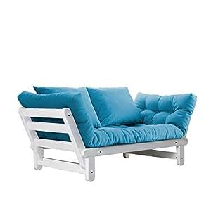 fresh futon beat convertible futon sofa bed white frame