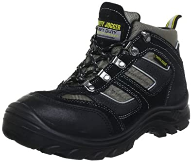 Safety Jogger CLIMBER, Unisex - Erwachsene Arbeits & Sicherheitsschuhe S3, schwarz, (blk/blk/dgr 117), EU 38