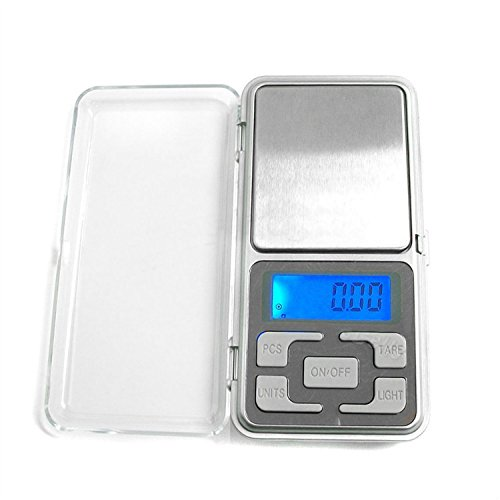 fenguh pour 1 x Mini Portable Bijoux Pocket electronique numerique Gram Balance 200g / 0.01g