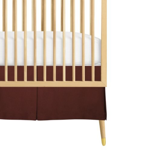 Babee Talk Organic Eco-Chic Crib Skirt