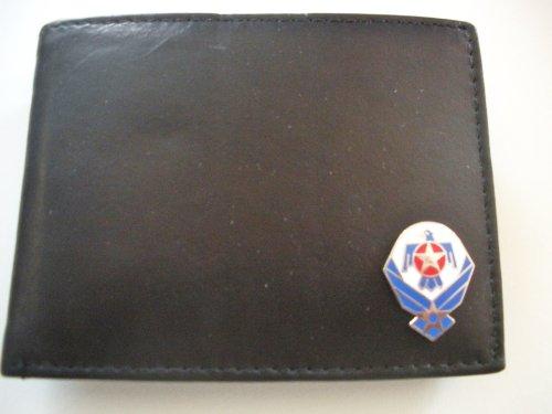 Air Force Thunderbirds Men'S Bi-Fold Italian Leather Wallet