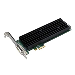 NVIDIA Quadro NVS 290 by PNY 256MB DDR2 PCI Express x1 DMS-59 to Dual DVI-I SL or VGA Profesional Business Graphics Board, VCQ290NVS-PCIEX1-PB